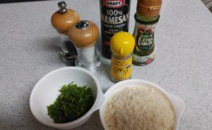 いわしの大葉パン粉焼きの作り方01