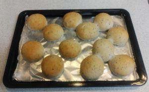 【春よ恋】ごまくるみパンの作り方05