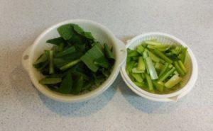 鶏レバーと小松菜の炒め物の作り方03