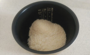 我が家のこんにゃく米入りご飯の作り方04