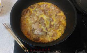 鶏レバー入り親子煮の作り方14