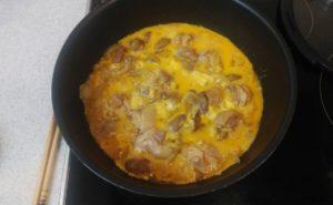 鶏レバー入り親子煮の作り方15