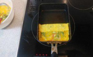 大葉入り卵焼きの作り方08