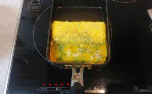 大葉入り卵焼きの作り方10