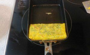 大葉入り卵焼きの作り方11