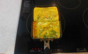 大葉入り卵焼きの作り方12