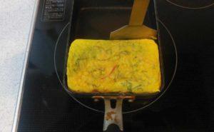 大葉入り卵焼きの作り方14