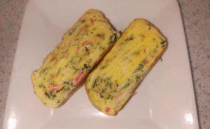 大葉入り卵焼きの作り方17