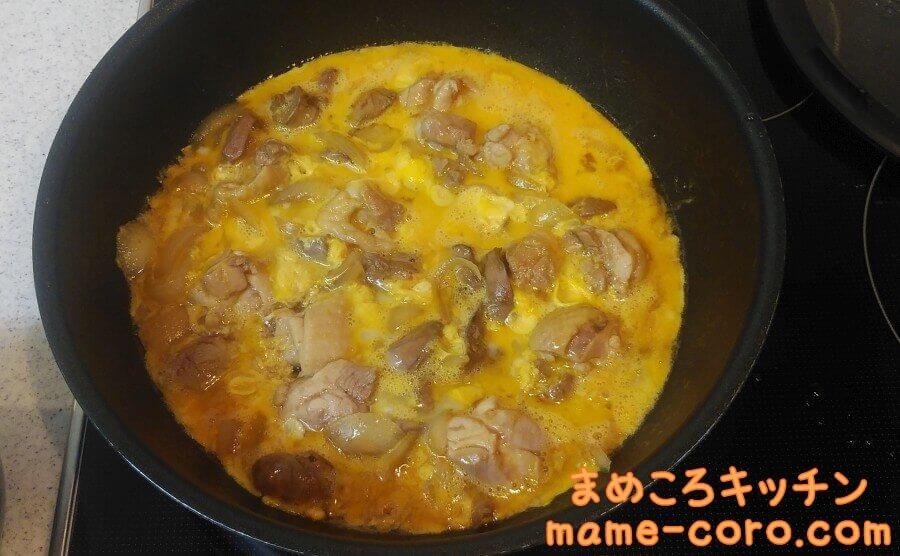 【鉄分たっぷり】鶏レバー入り親子煮のアイキャッチ
