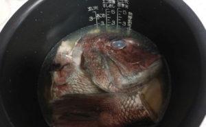 鯛のアラを使った鯛めしの作り方05