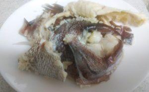 鯛のアラを使った鯛めしの作り方07